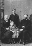 Family of Rev. A. B. Bowers, 1st Congregational Church, Huntington