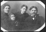 Rev & Mrs. John McCarthy, children Margaret and Griffin