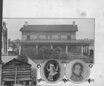 James and Lucy Holderby and their home