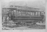 First Huntington streetcar, Huntington, W.Va.