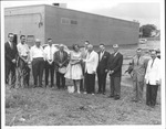Ground breaking for Robin Bowling Lanes, June 9, 1961