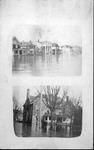 Scene of Huntington in 1937 flood,