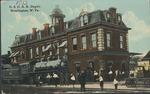 C&O Railroad depot, Huntington, W.Va.