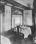 B&O RR, Interior of Colonial Dining Car