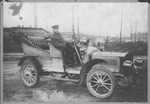 Gray Goose automobile & J. Walter Hambrick, Huntington, W.Va.