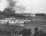 Sternwheel steamboat race, Huntington, W.Va.