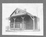 DAR cabin at Tu Endie Wei park, Pt. Pleasant, W.Va.