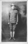 Ellis Rudolph Meadows in WWI uniform