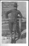 Ellis Rudolph Meadows in WWI Army uniform