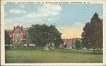 Marshall college -- general view of grounds and buildings, Huntington, W. Va., 1929.
