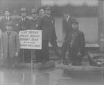 Huntington, W. Va. Police dept. during 1913 Flood