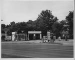 Sunoco service station, ca. 1955.