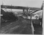 I-64 overpass, Huntington, W. Va., ca. 1963.