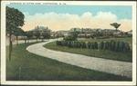 Entrance to Ritter park, Huntington, W. Va., ca. 1915.
