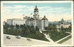 Court house square, Huntington, W. Va., ca. 1915.