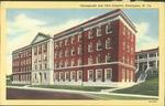 Chesapeake and Ohio hospital, Huntington, W. Va., ca. 1940.