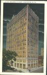 C. & O. building at night, Huntington, W. Va.