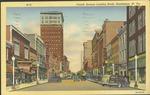 Fourth Ave. looking east, Huntington, W. Va., 1945.