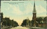 Looking east on 5th ave. from 9th st., Huntington, W. Va., ca. 1910.