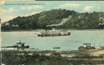 Steamboat on Ohio river, Huntington, W. Va., 1911.
