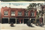 Central fire department, Huntington, W. Va., ca. 1914.