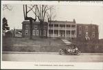 Chesapeake and Ohio hospital, Huntington, W. Va., ca. 1914.