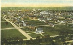 Bird's eye view from Ritter hill, [Huntington, W. Va.], ca. 1915.