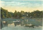 The lake, Clyffeside park, [Ashland, Ky.], ca. 1915.