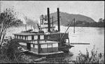 Wharf boat, St. Marys, W. Va., 1911.