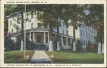 Borland springs hotel, Waverly, W. Va., 1945.