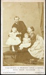 Prince Ludwig and Princess of Hesse & their children