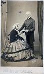 Rev.& Mrs. John Keble, Oxford, England. ca. 1860's