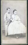 Nannie & Willie, ca. 1860's