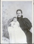 Unidentified woman and baby, ca. 1880's