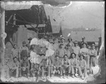 Unidentified workers at Ensign Mfg., Huntington, W.Va., 1899?
