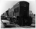 C&O Railroad diesel locomotive