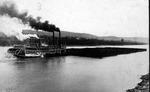 Steam tow boat on the Ohio River, ca. 1909