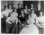 Graduating class of Marshall College for 1898