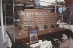 Model of the U.S. News HQ Bldg at the ground breaking