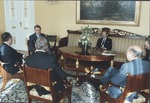 Marvin Stone,meeting with Finnish pres. Koivisto