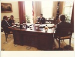 Marvin Stone with President Reagan at White House