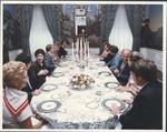 Marvin Stone at dinner at White House