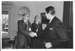 Pres. Ronald Reagan with Marvin Stone