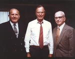 Marvin Stone and Pres. George H. W. Bush