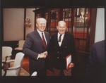 Marvin Stone and Pres. Gerald Ford