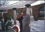 Marvin Stone and Mrs. Stone at Graceland, Memphis, Tenn.