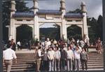 Marvin Stone at Sun Yat Sen Memorial, Nanjing, China