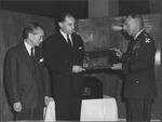 Marvin Stone with Gen. William Dean