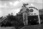 Marvin Stone at Public Info. Office for US 24th Infantry Div in Korean DMZ