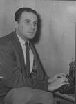 Marvin STone at his typewriter